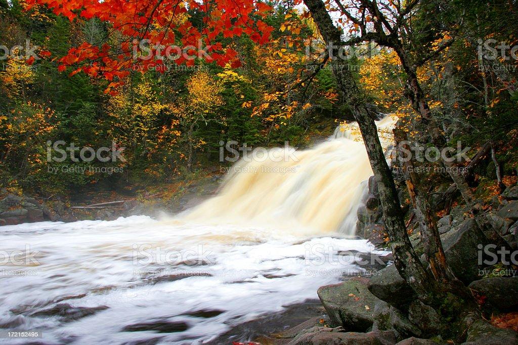 Mary Ann Falls 3 stock photo