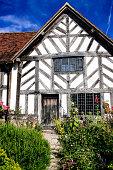 Mary Arden's farmhouse in Wilmcote near Stratford-upon-Avon, UK