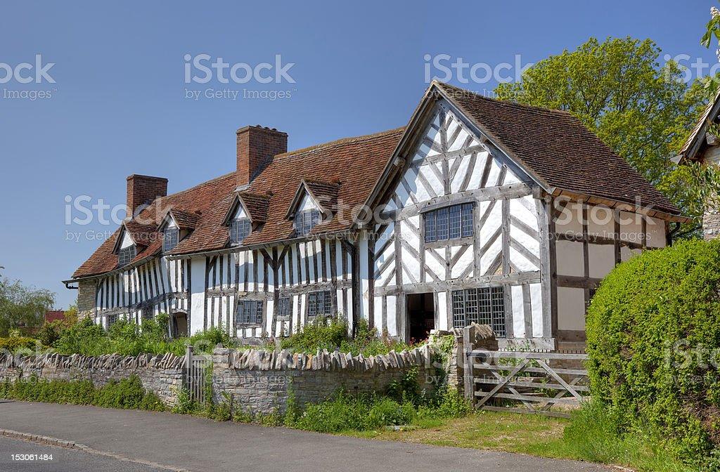 Mary Arden's House stock photo