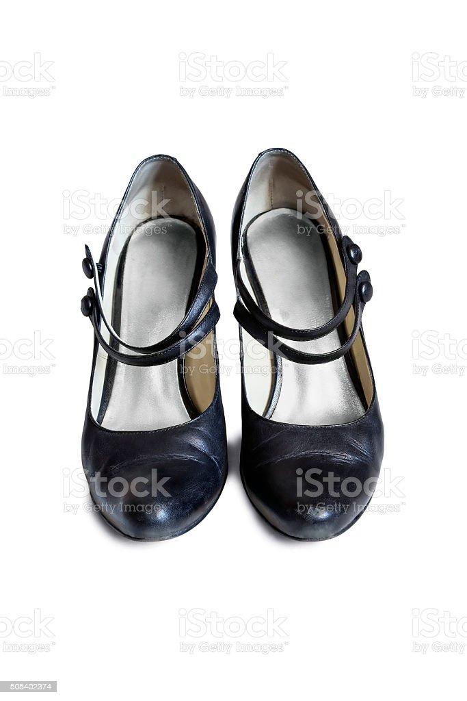 Mary Jane shoes stock photo