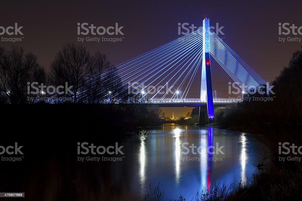 Mary McAleese Boyne Valley Bridge stock photo