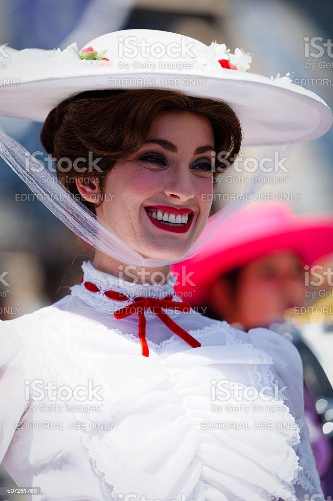 Mary Poppins Headshot stock photo