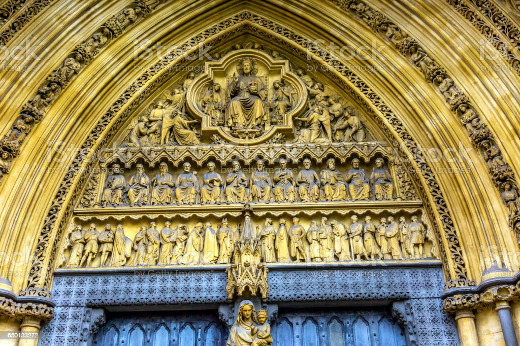 Mary Statue Door Facade Westminster Abbey London England royalty-free stock photo & Mary Statue Door Facade Westminster Abbey London England stock ... Pezcame.Com