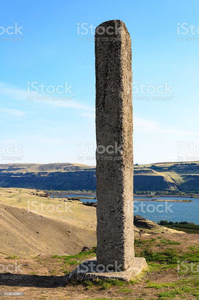 Maryhill Stonehenge stock photo
