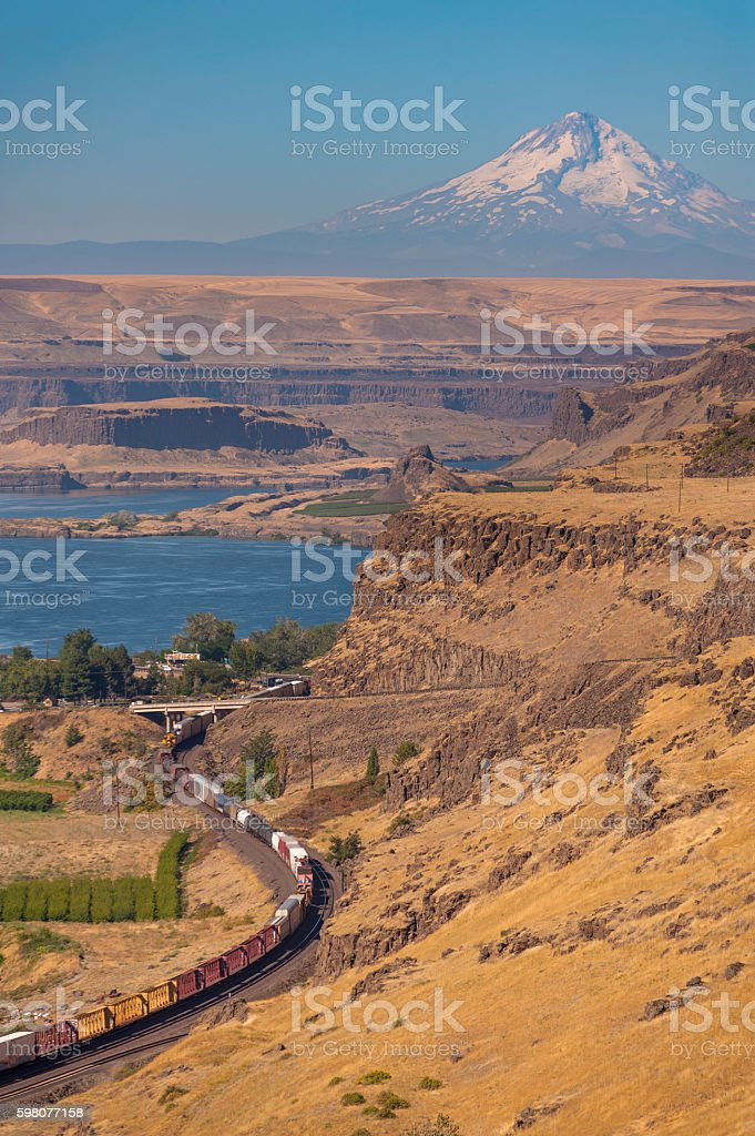 Maryhill, Washington stock photo