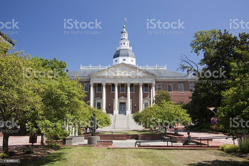 Maryland State House royalty-free stock photo