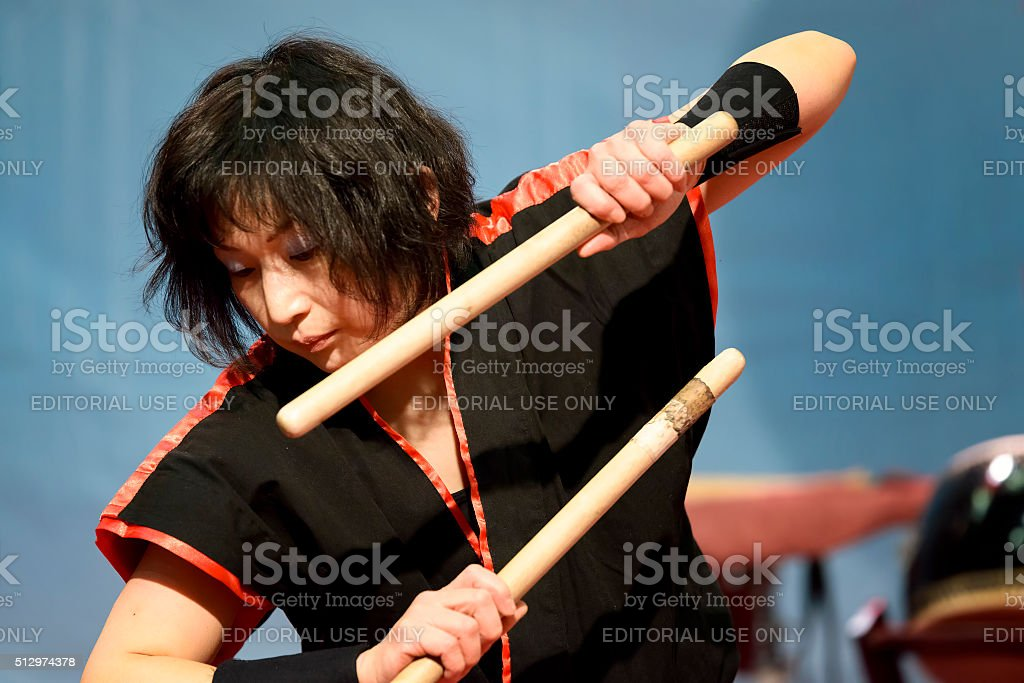 Masa Daiko stock photo