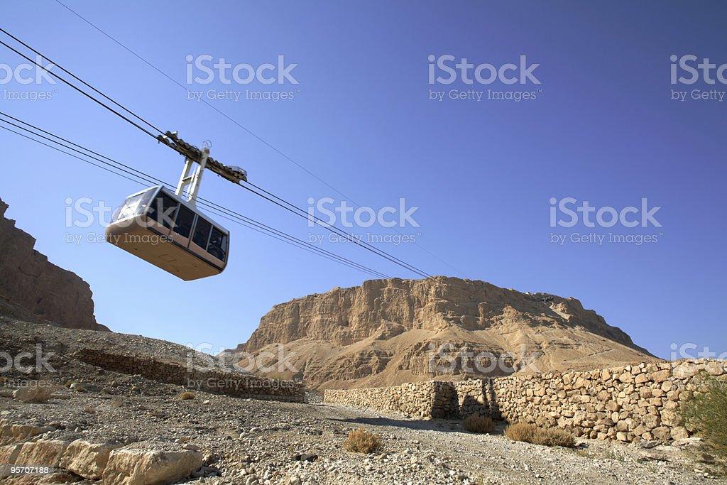 Masada national park, Israel stock photo