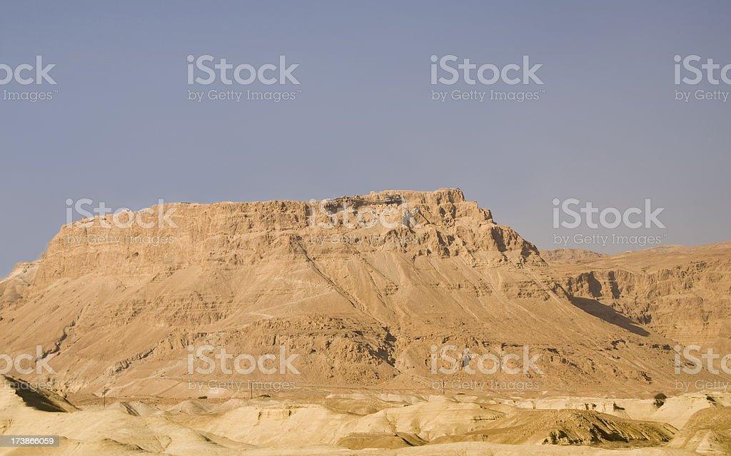 Masada stock photo