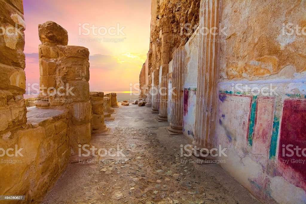 Masada royalty-free stock photo