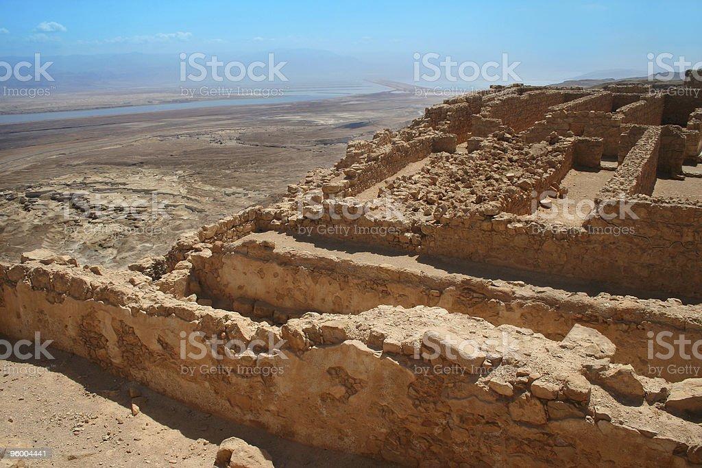 Masada Site, Israel stock photo