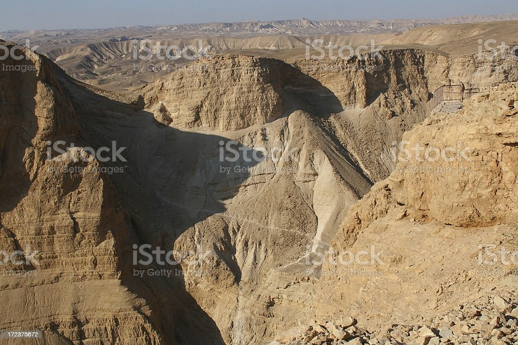 Masada  view royalty-free stock photo