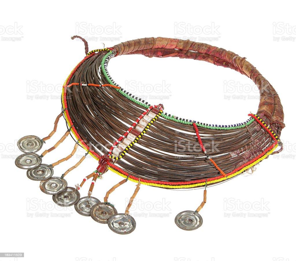 Masai Necklace royalty-free stock photo