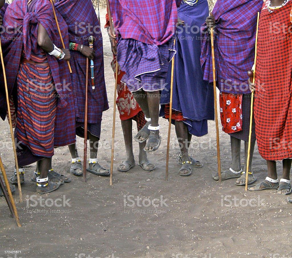 Masai royalty-free stock photo