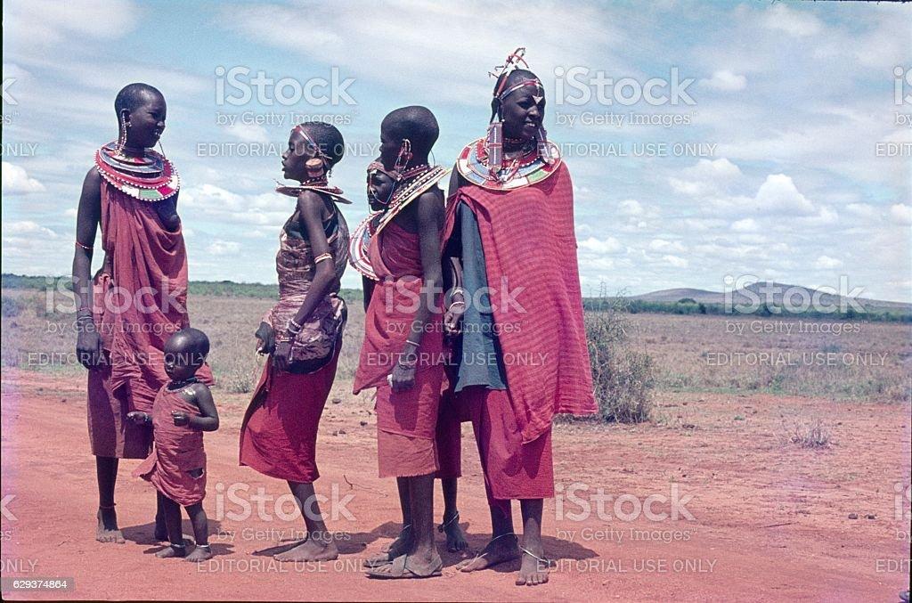 Masai, Tanzania stock photo