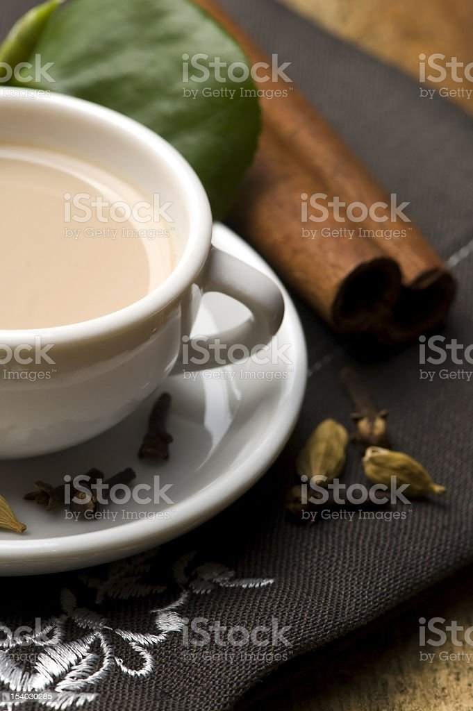 masala chai royalty-free stock photo