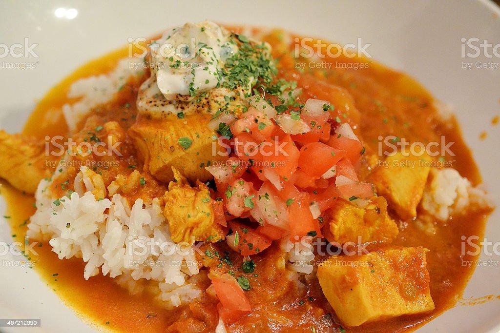 masala curry stock photo