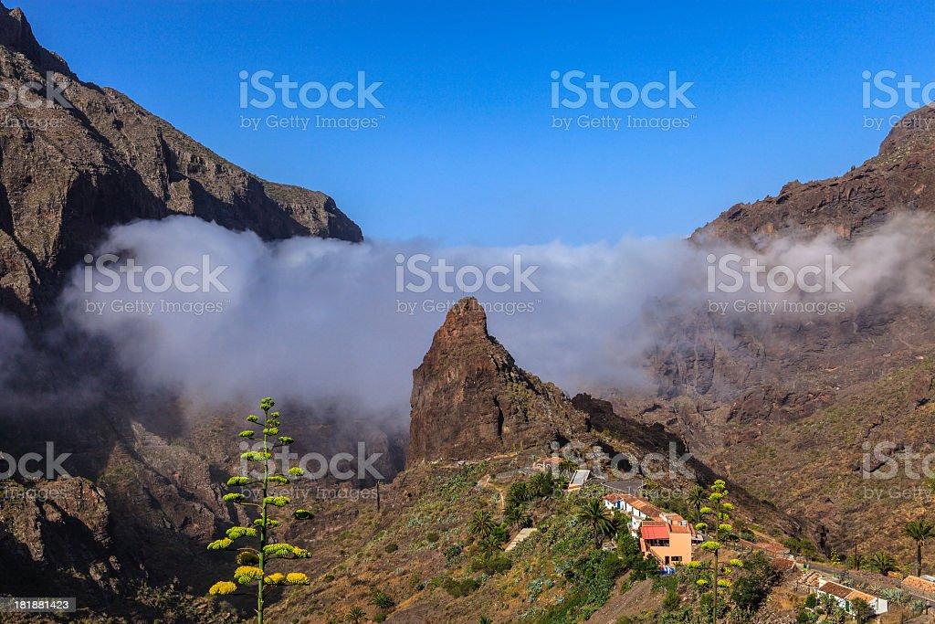 Masca, Tenerife royalty-free stock photo