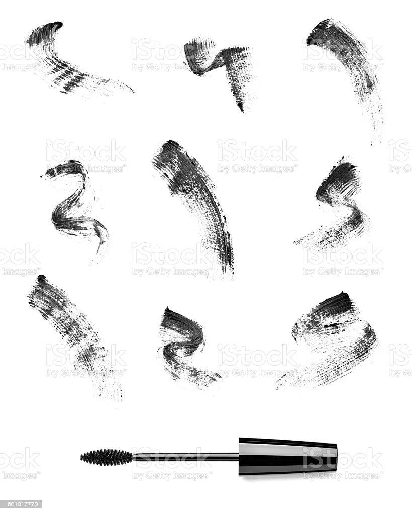 mascara eyelash make up beauty cosmetics stock photo