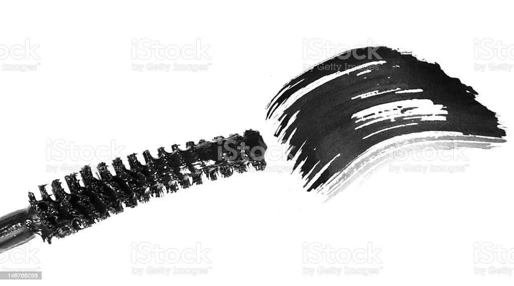 mascara stock photo