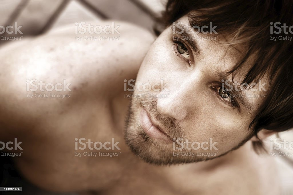 Masculinity royalty-free stock photo
