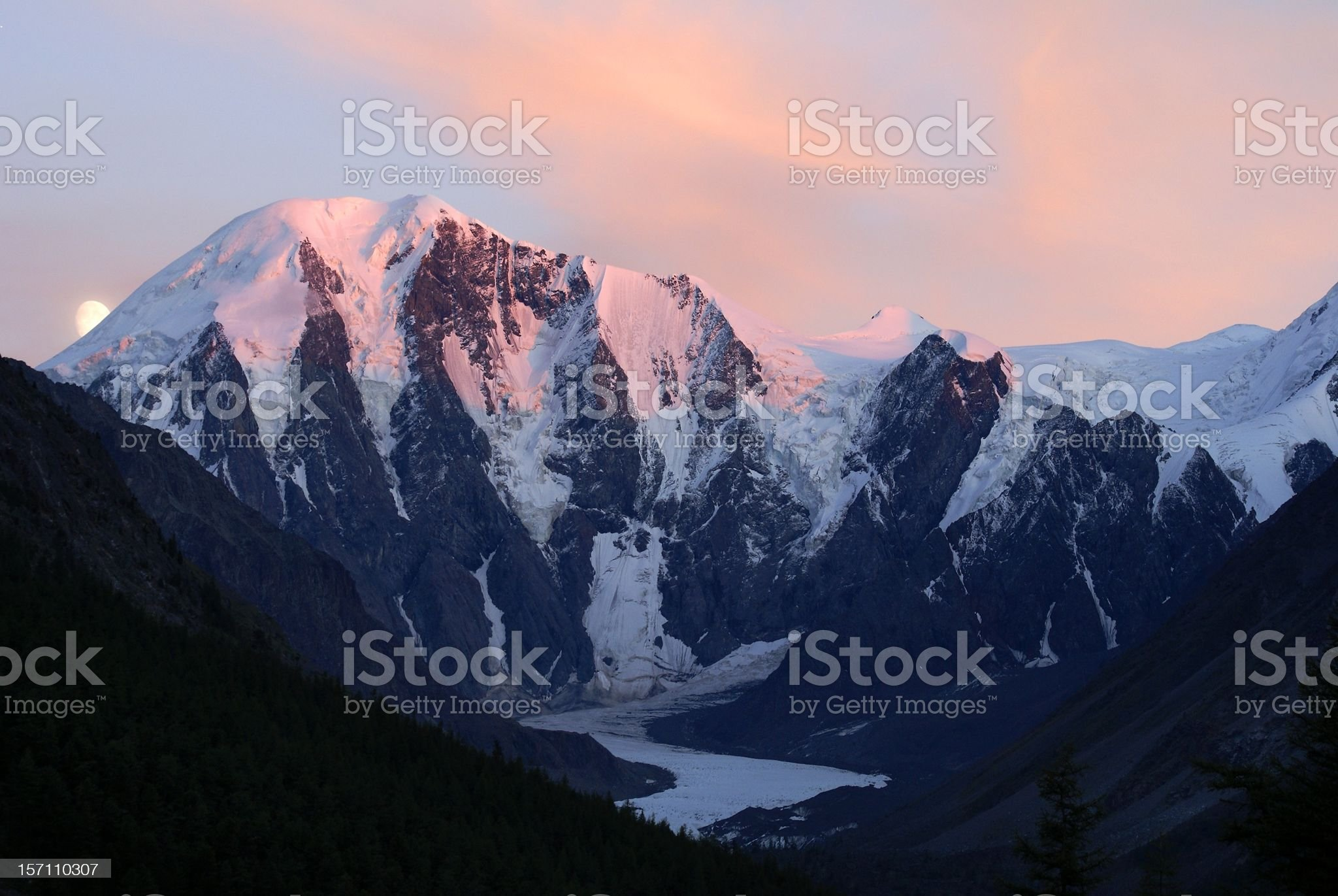 masei valley Altai - Russia royalty-free stock photo