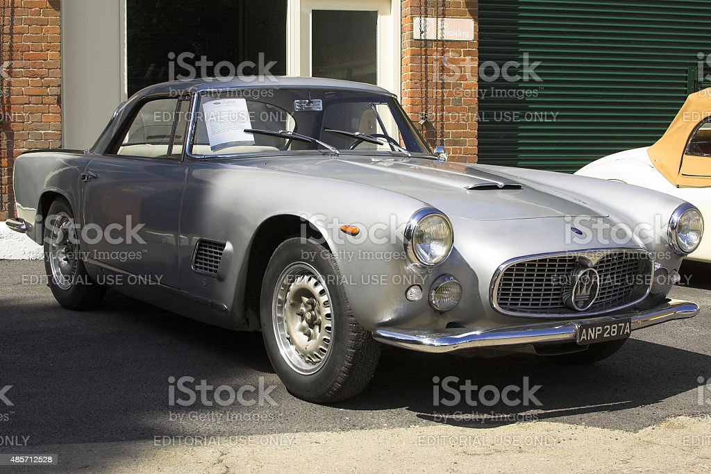 Maserati 3500 GT classic car stock photo