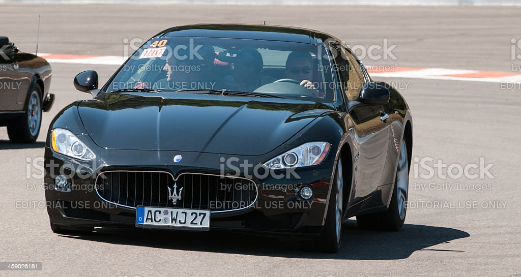 Maserati GranTurismo royalty-free stock photo