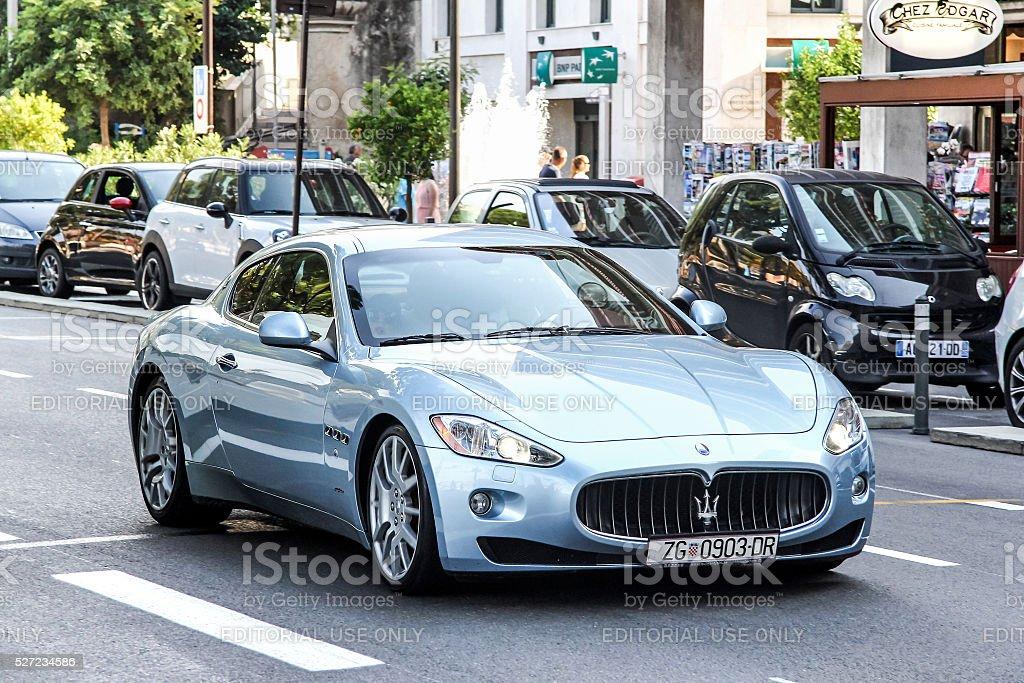 Maserati GranTurismo stock photo
