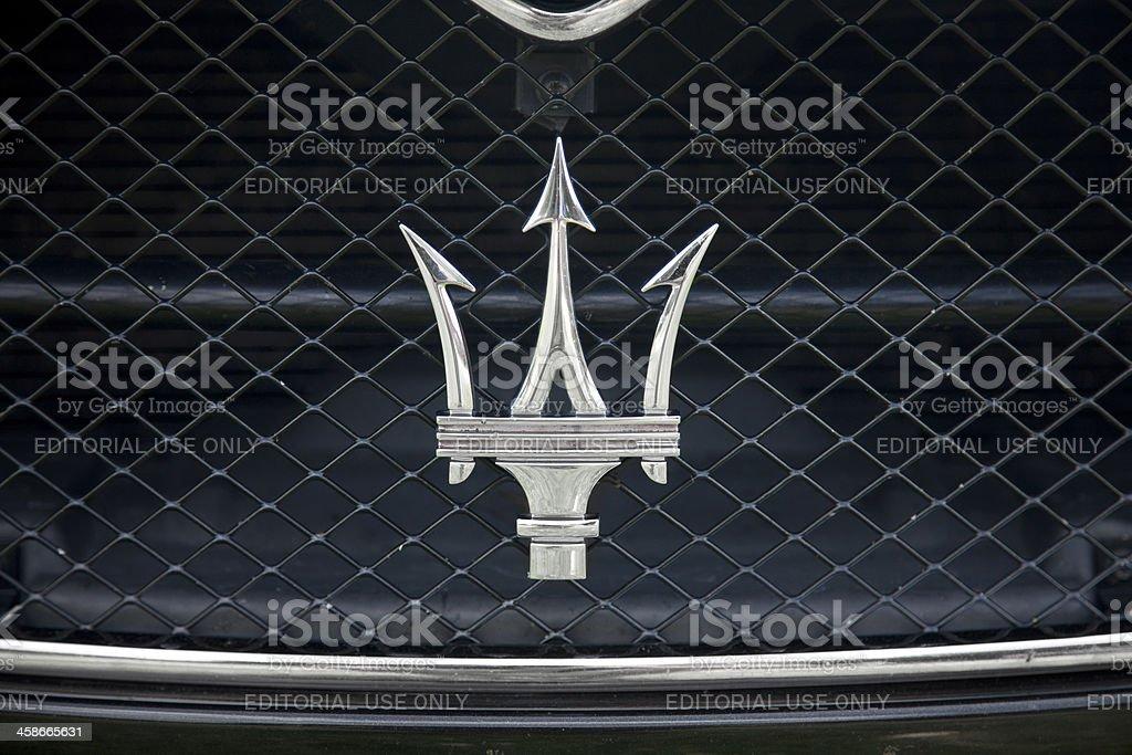 Maserati Logo royalty-free stock photo