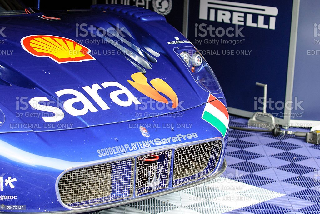 Maserati MC12 GTI stock photo