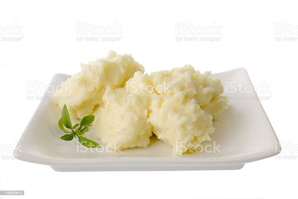 Mashed Potato stock photo