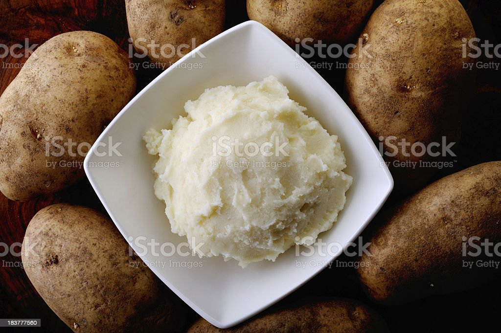 Mashed Potato royalty-free stock photo