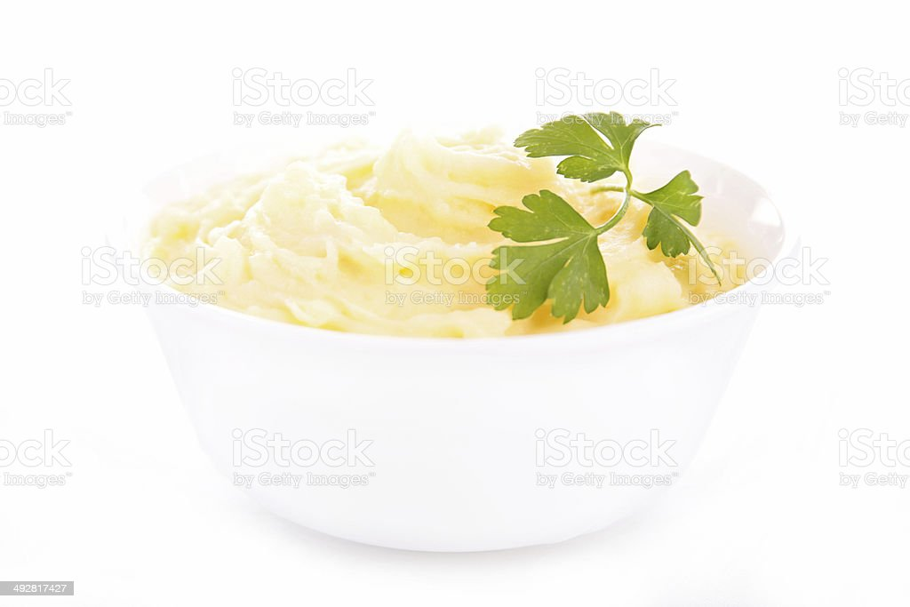 mashed potato, puree stock photo