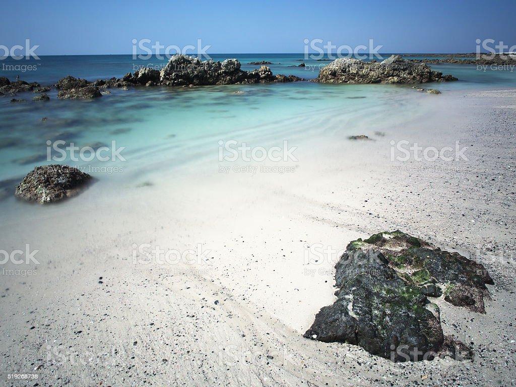 Masirah Island stock photo
