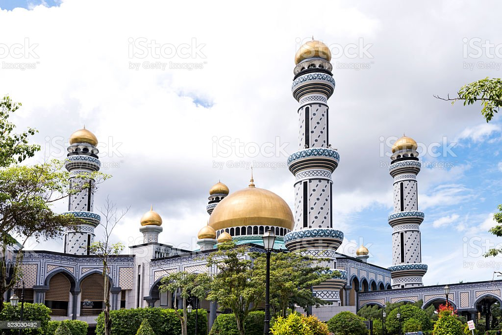 Masjid Brunei stock photo