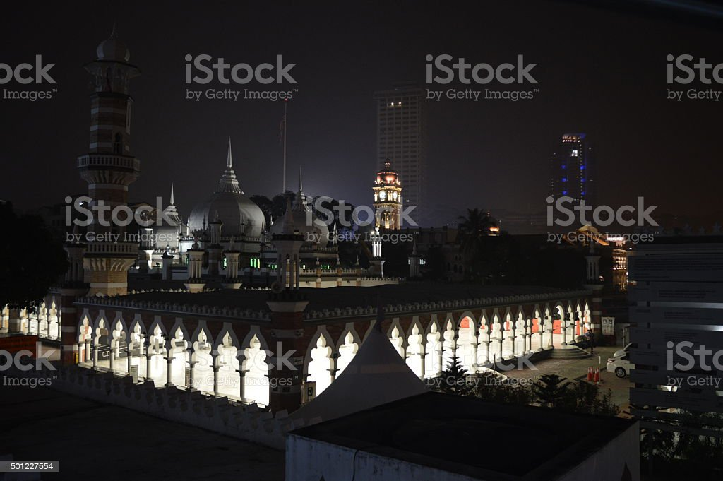 Masjid Jamek stock photo