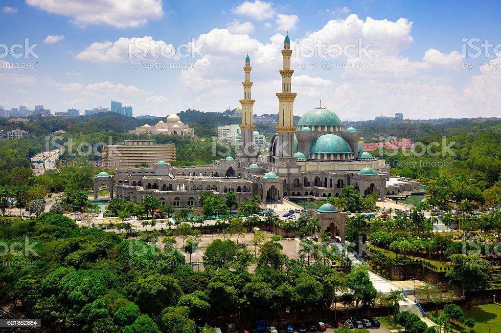 Masjid Wilayah Persekutuan stock photo