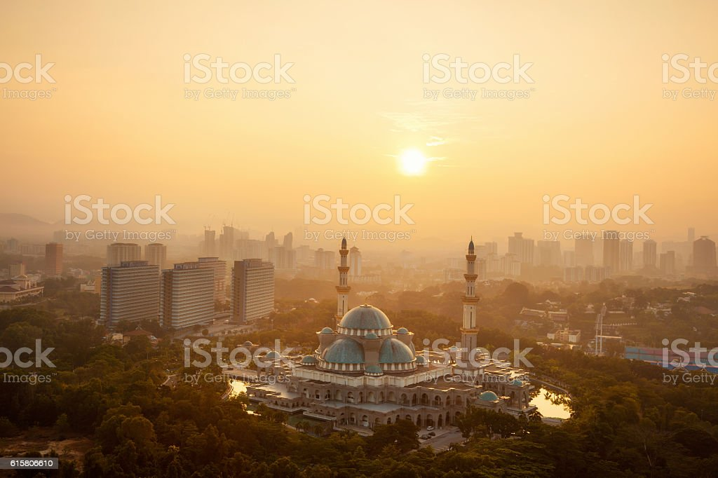 Masjid Wilayah stock photo