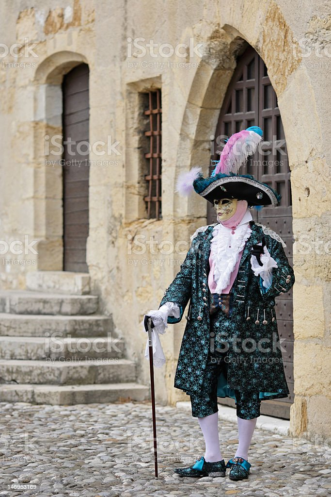 Mask at the carnival royalty-free stock photo