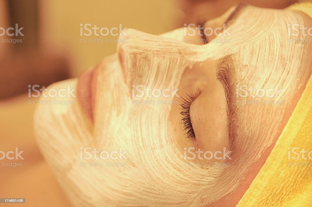 mask facial royalty-free stock photo