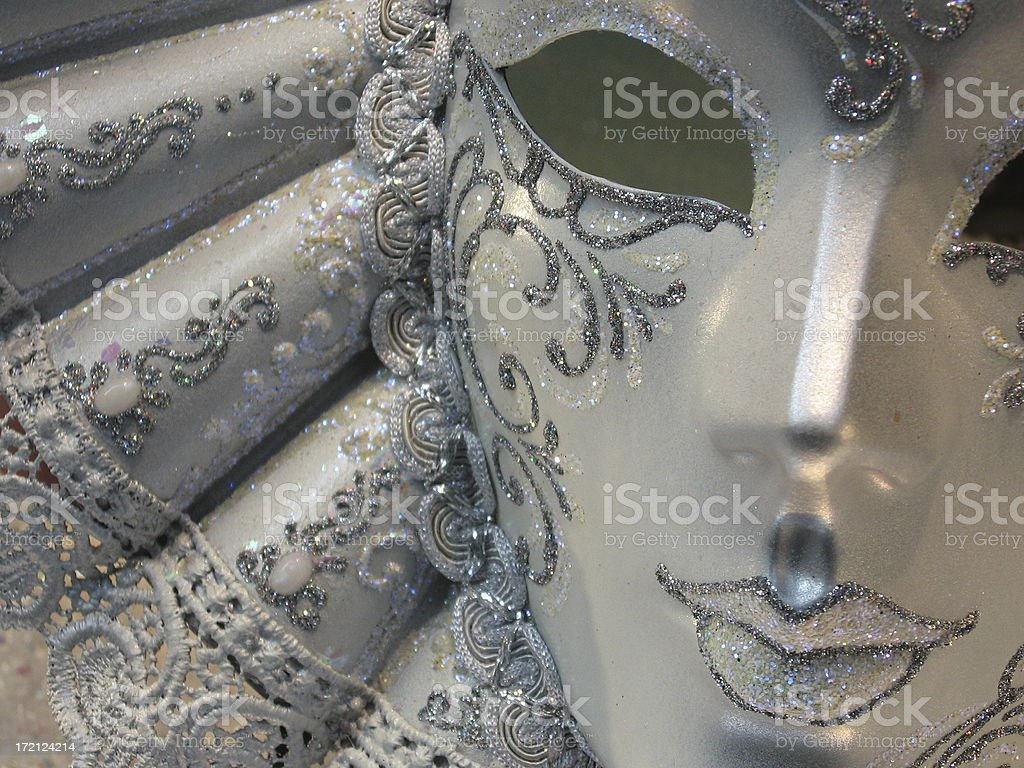 Mask for Carnivale - Italy stock photo