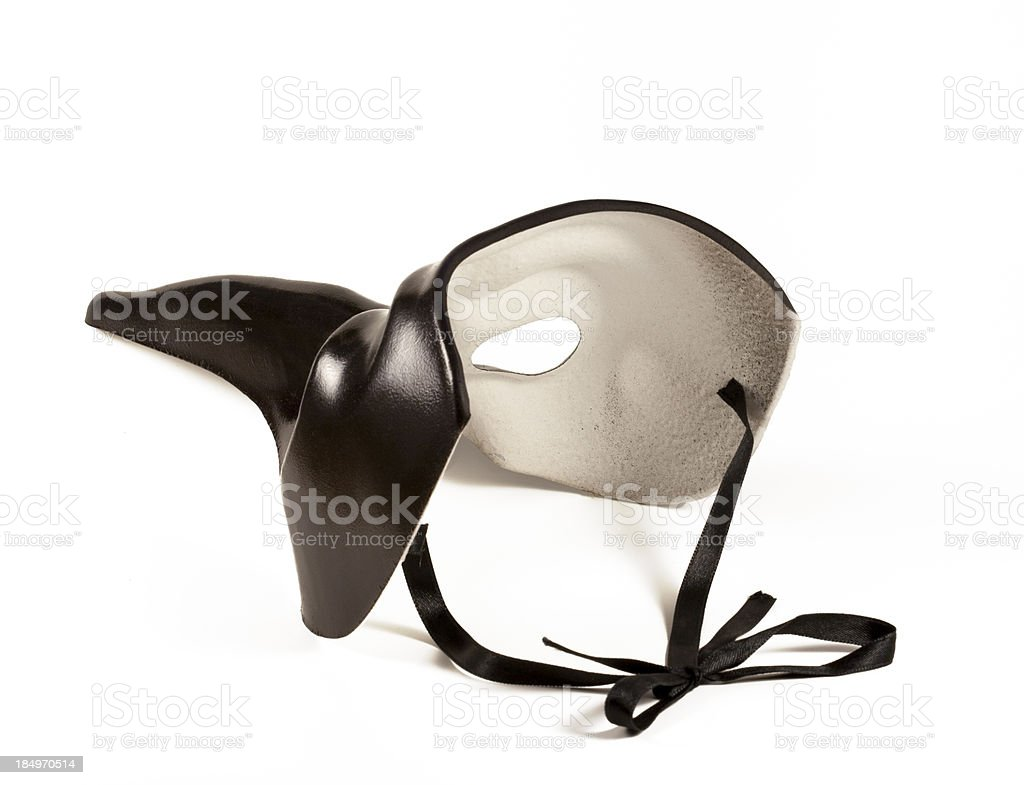 Mask From Behind stock photo