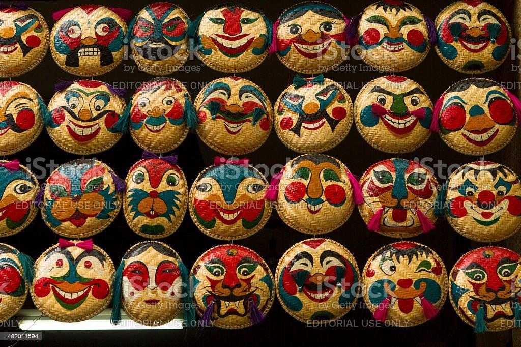 Mask from Vietnam stock photo