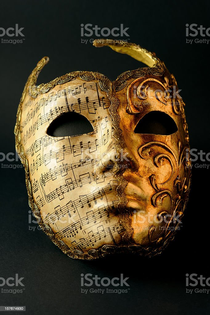 Mask of Carnival stock photo