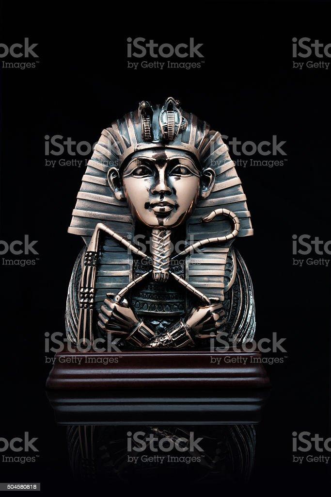 mask of the pharaoh stock photo