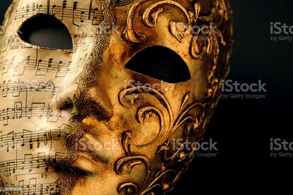 Mask of Venice Carnival stock photo