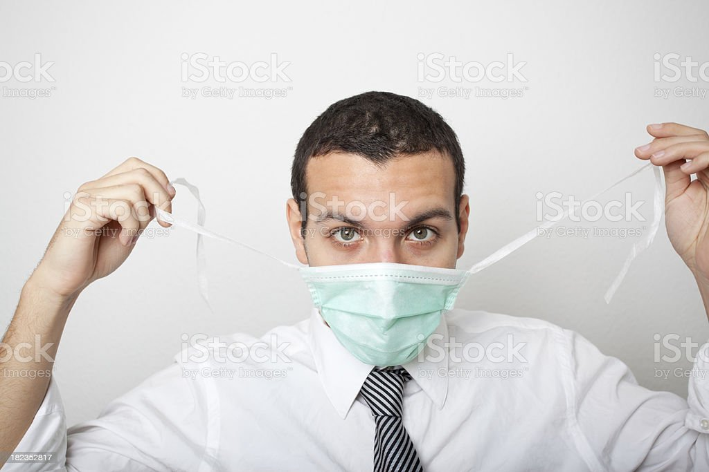Mask On! stock photo