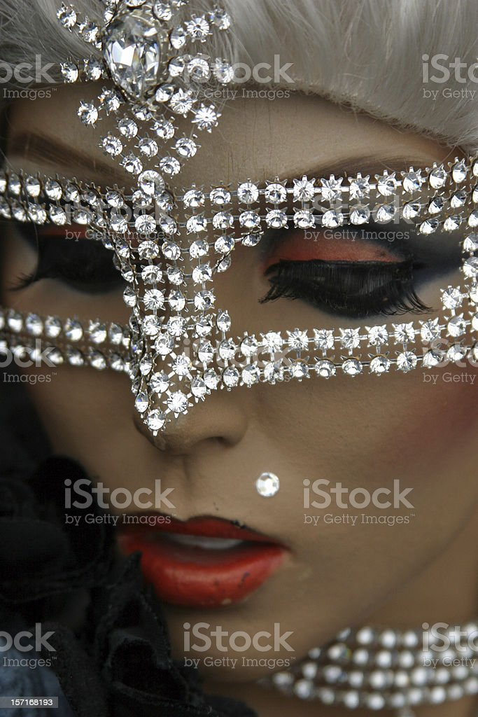 Mask phantasy royalty-free stock photo