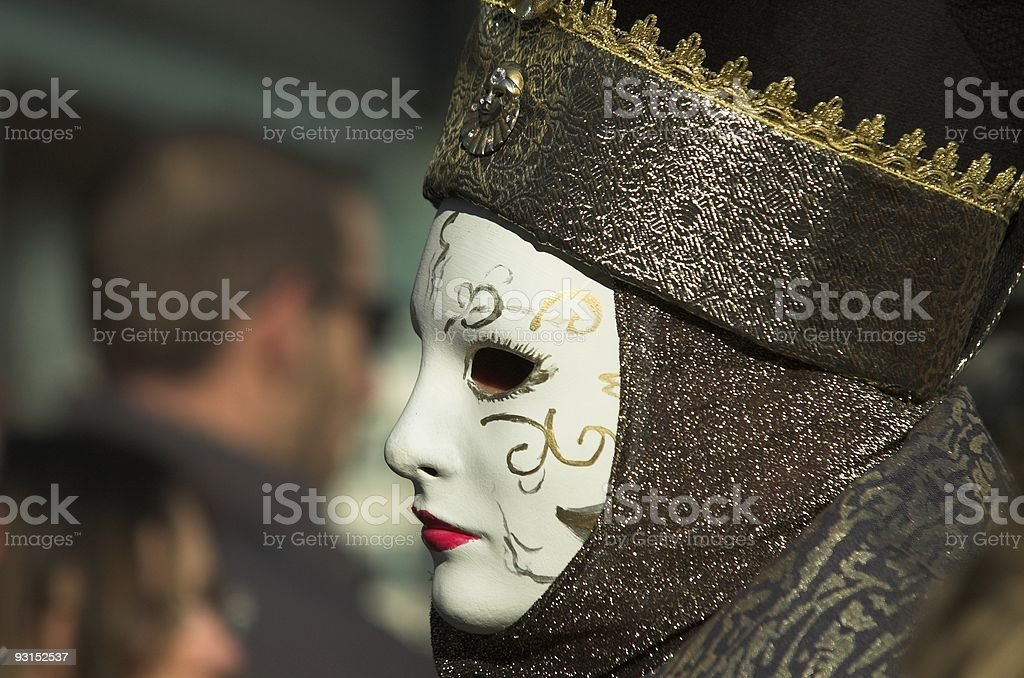 mask profile royalty-free stock photo